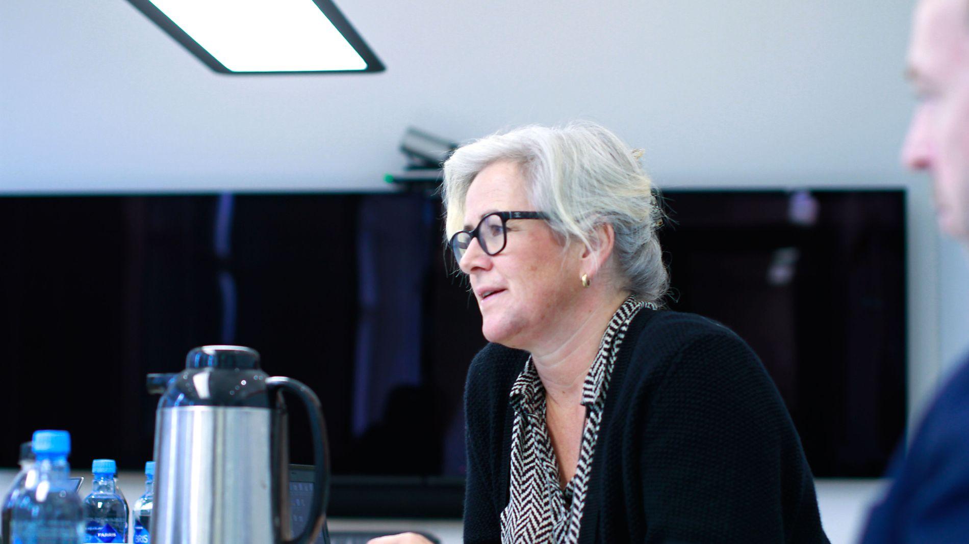 JURYLEDER: Cathrine Foss Stene leder arbeidet med å sjalte ut de aller beste av de hundrevis av kandidatene som meldes inn til Ledertalentene