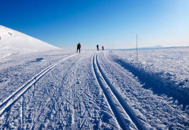 VANSKELIG - OG ENKELT: Å spå været i hele sesonger framover er vanskelig. Men det kan av og til være enkle sammenhenger, viser norsk klimaforskning i Bergen.  Foto: Erik Johansen / NTB scanpix