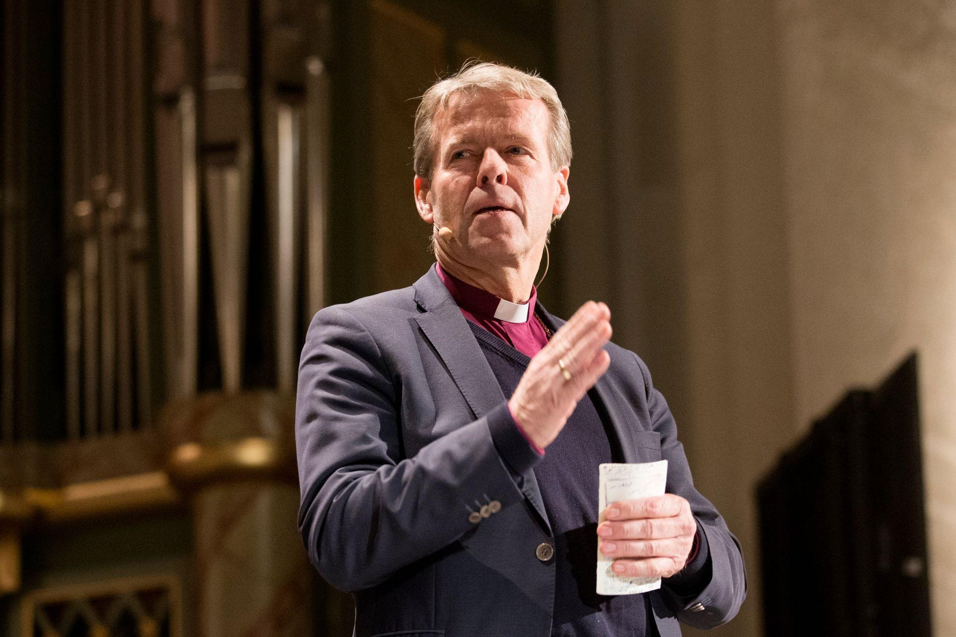 OPPGJØR: Biskop i Tunsberg, Per Arne Dahl, går ut med sterk kritikk av Visjon Norge.