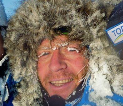 EVENTYRER: Turguide Eric Phillips fra Australia har vært på Nordpolen mist 15 ganger. Årets tur er imidlertid avlyst.