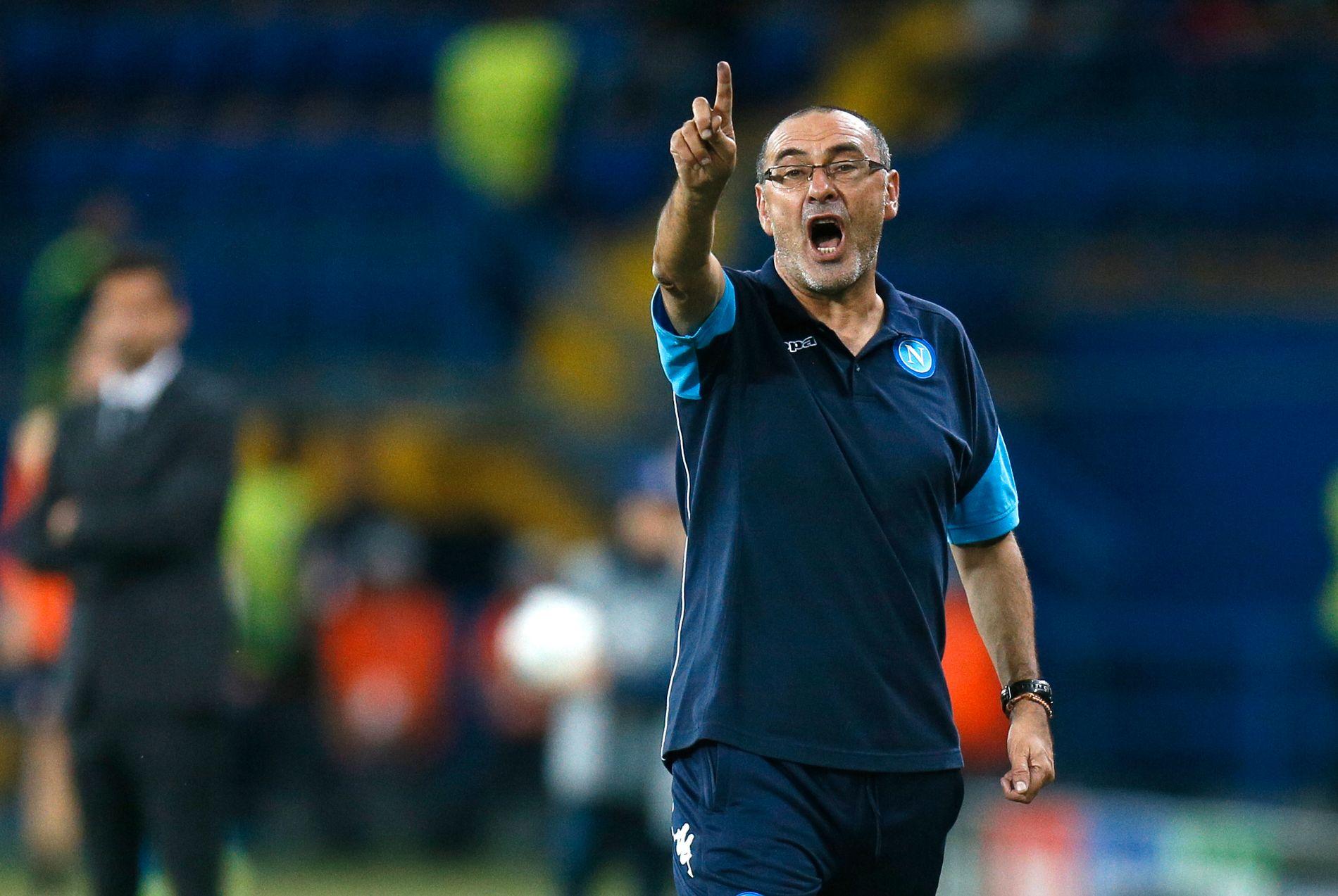 ITALIAN JOB: Maurizio Sarri er den nye Chelsea-manageren.