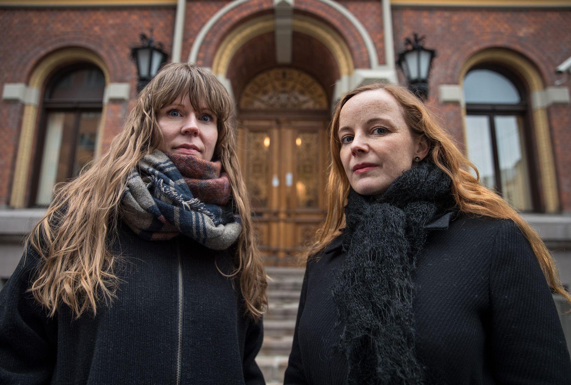 OVERRASKENDE FUNN: Anne Bitsch og Marit Elisabeth Klemetsen har forsket på behandlingen av voldtektssaker i retten.