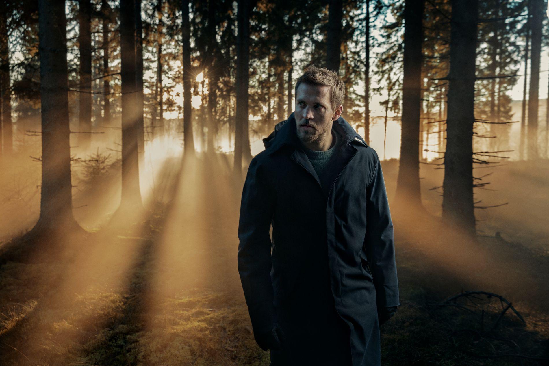 MER TV: Tobias Santelmann gleder seg til å ta fatt på neste års krims