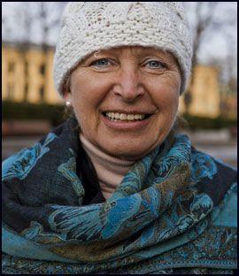 WENCHE-FAN: Nina Sole (60+) Foto: Krister Sørbø/VG