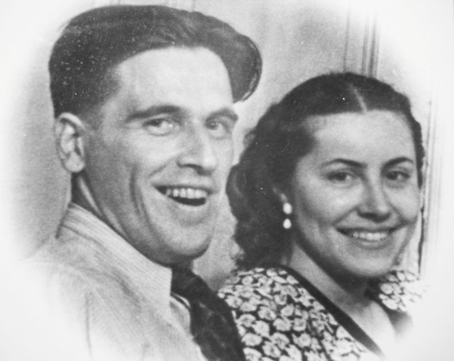 Marinas foreldre Jurij Vladimirovitsj Ekarev og Maria Vasilijeva Ekareva.