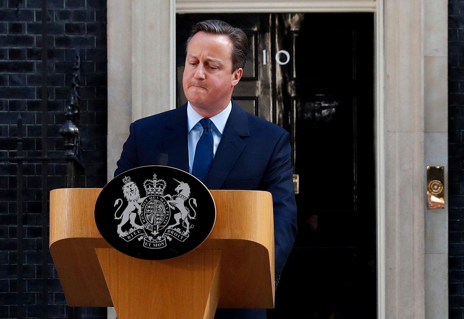 GAME OVER: David Camerons ettermæle ble over natten endret fra reformatoren som tok de konservative inn i en ny æra, til statsministeren som satte landets økonomi og EU i spill.