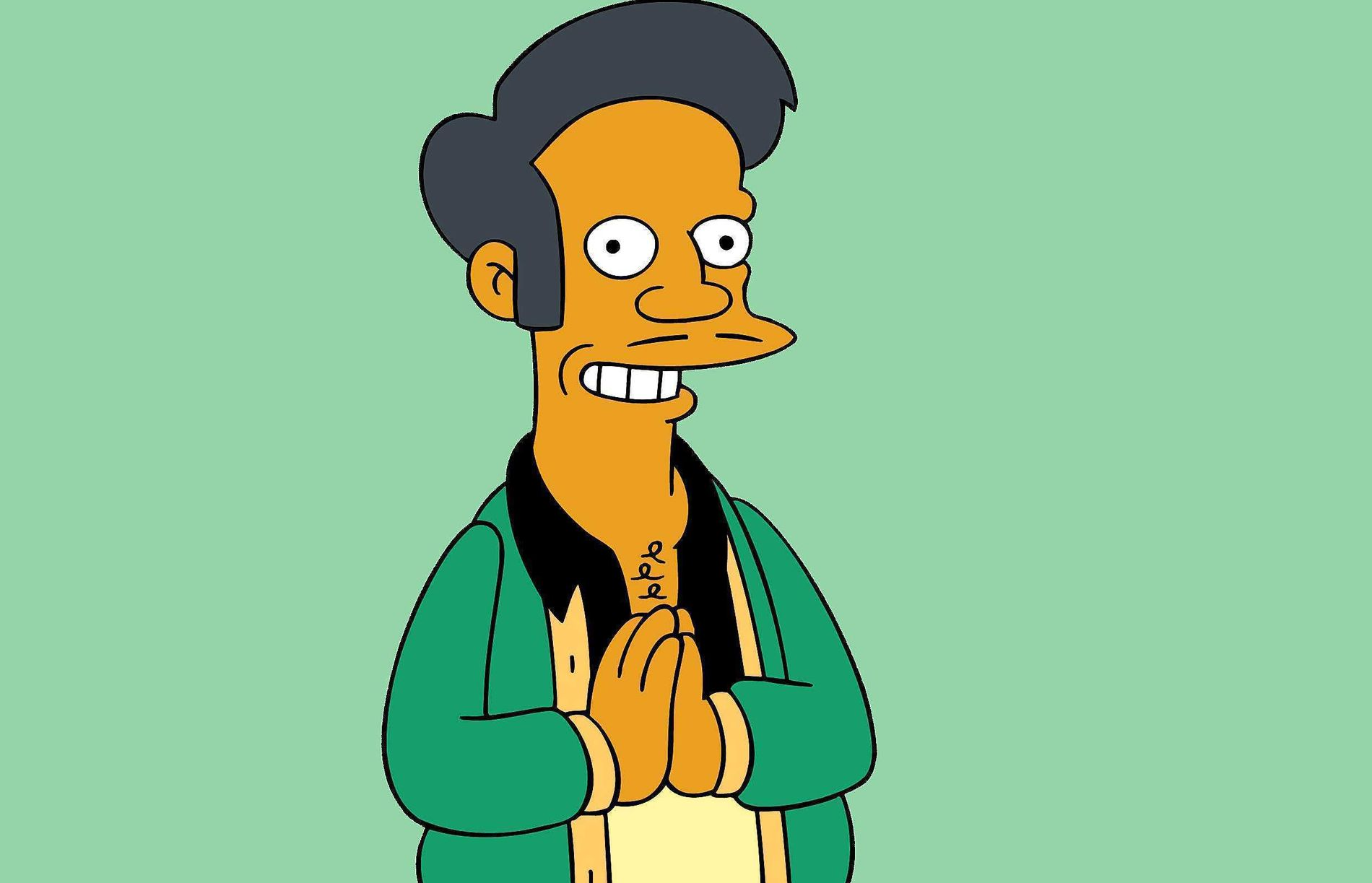 POPULÆR TYPE: Småbutikk-eieren Apu fra The Simpsons har vært med siden starten.