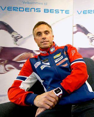 KICKSTARTET SESONGEN: Onsdag formiddag inviterte Norges Skiforbund presse og sponsorer til kickoff før skisesongen. Landslagssjef Vidar Løfshus er sikker på at den vil inneholde Petter Northug.