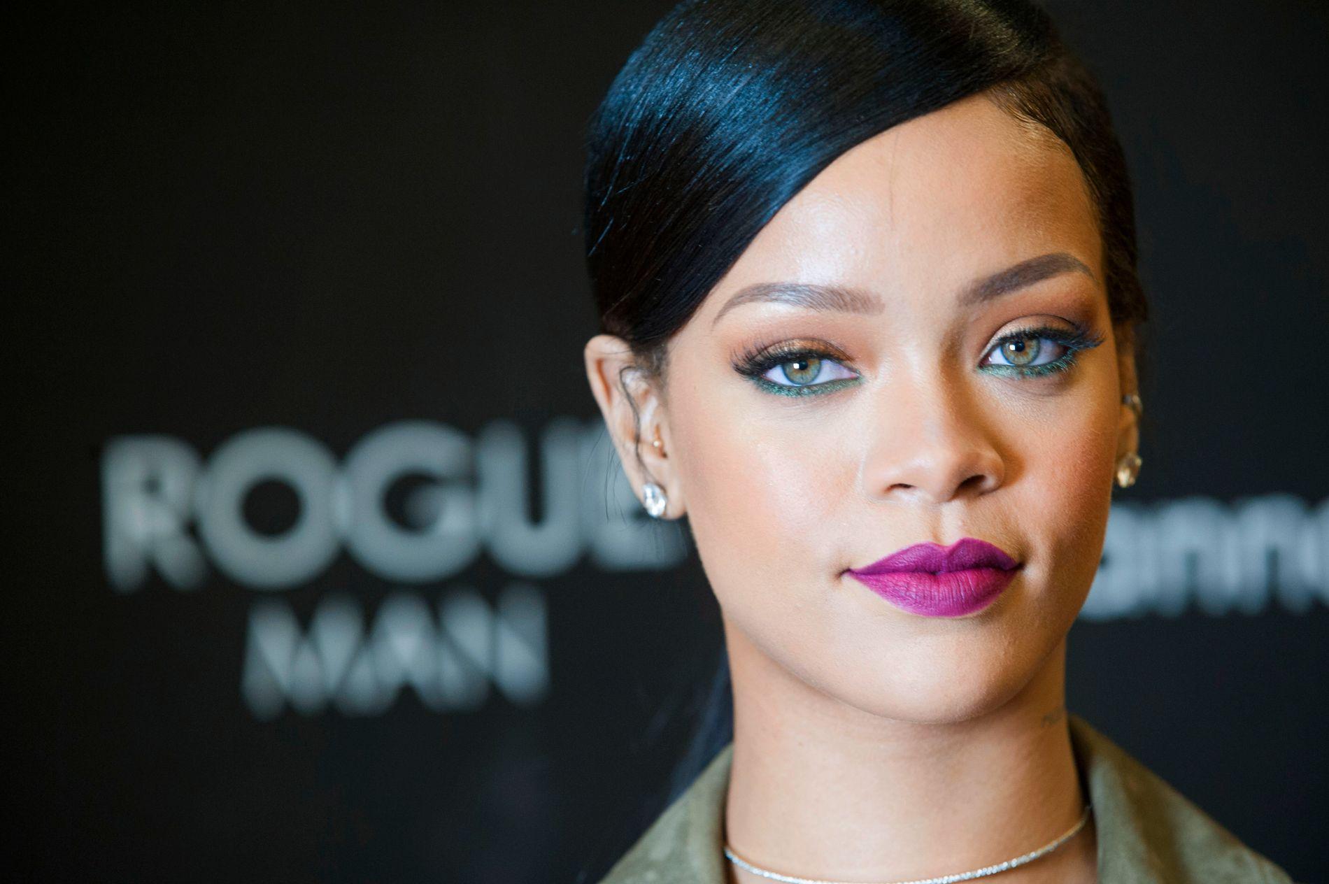 BEKYMRET: Rihanna ba om hjelp til å finne Quigley.