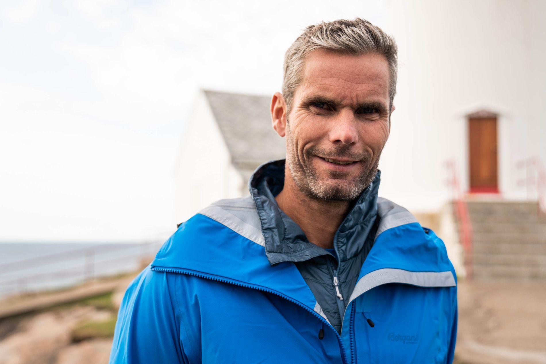 REALITY-TV: Thoma Alsgaard under innspillingen av «71 grader nord» i fjor sommer.