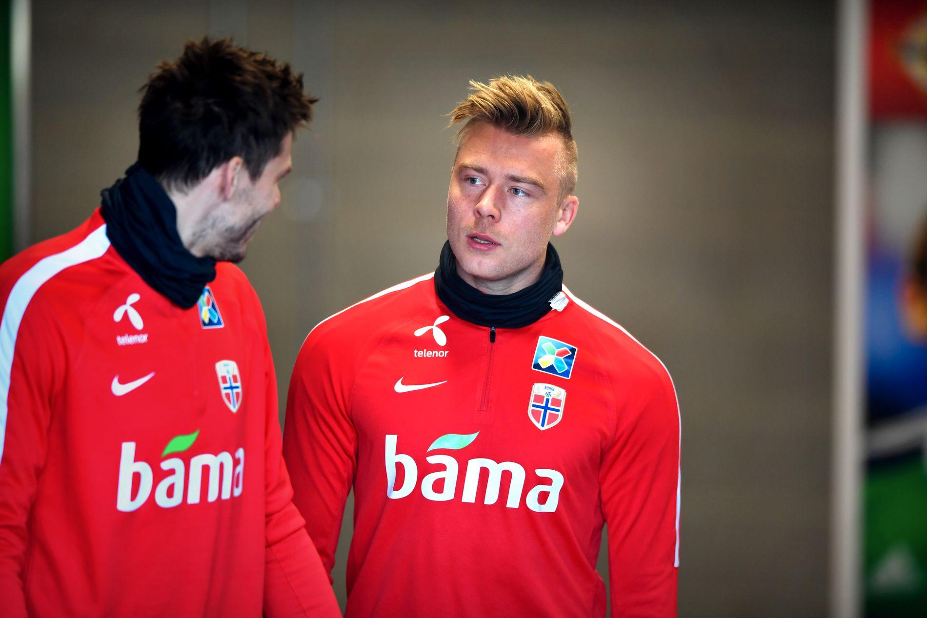 PÅ VEI BORT: Alexander Søderlund kan være på vei tilbake til norsk fotball.
