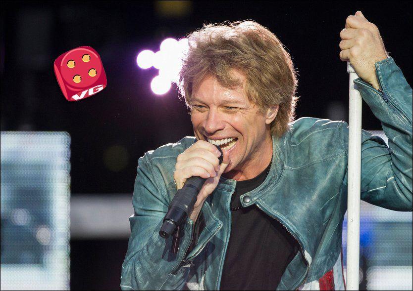 VEL MYE: Uten Richie Sambora blir det vel mye av hovedpersonen selv, Jon Bon Jovi, mener VGs anmelder. Foto: AP