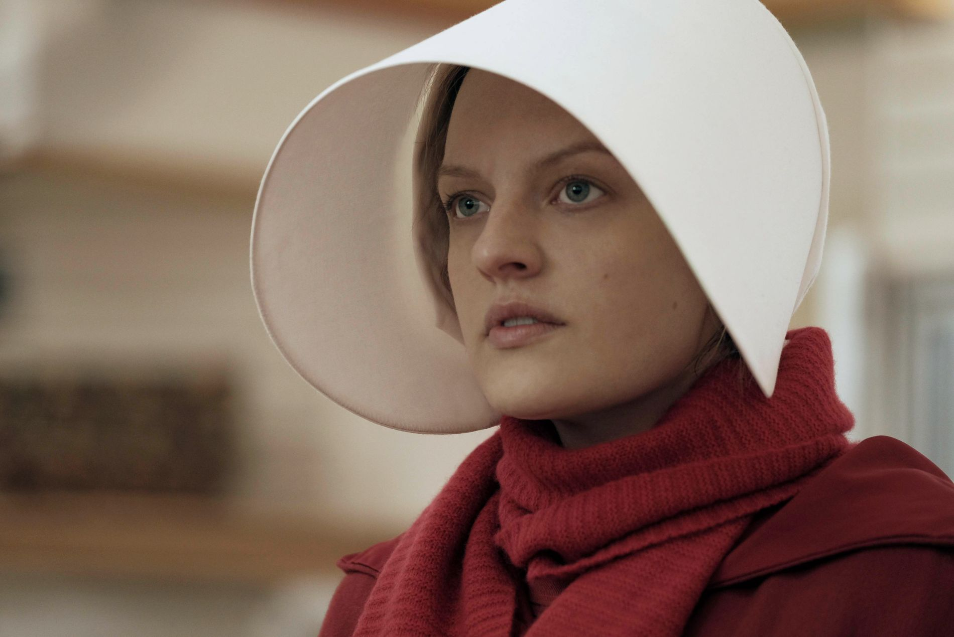 NOMINERT: Både «The Handmaid's Tale» og Elisabeth Moss er nominert.