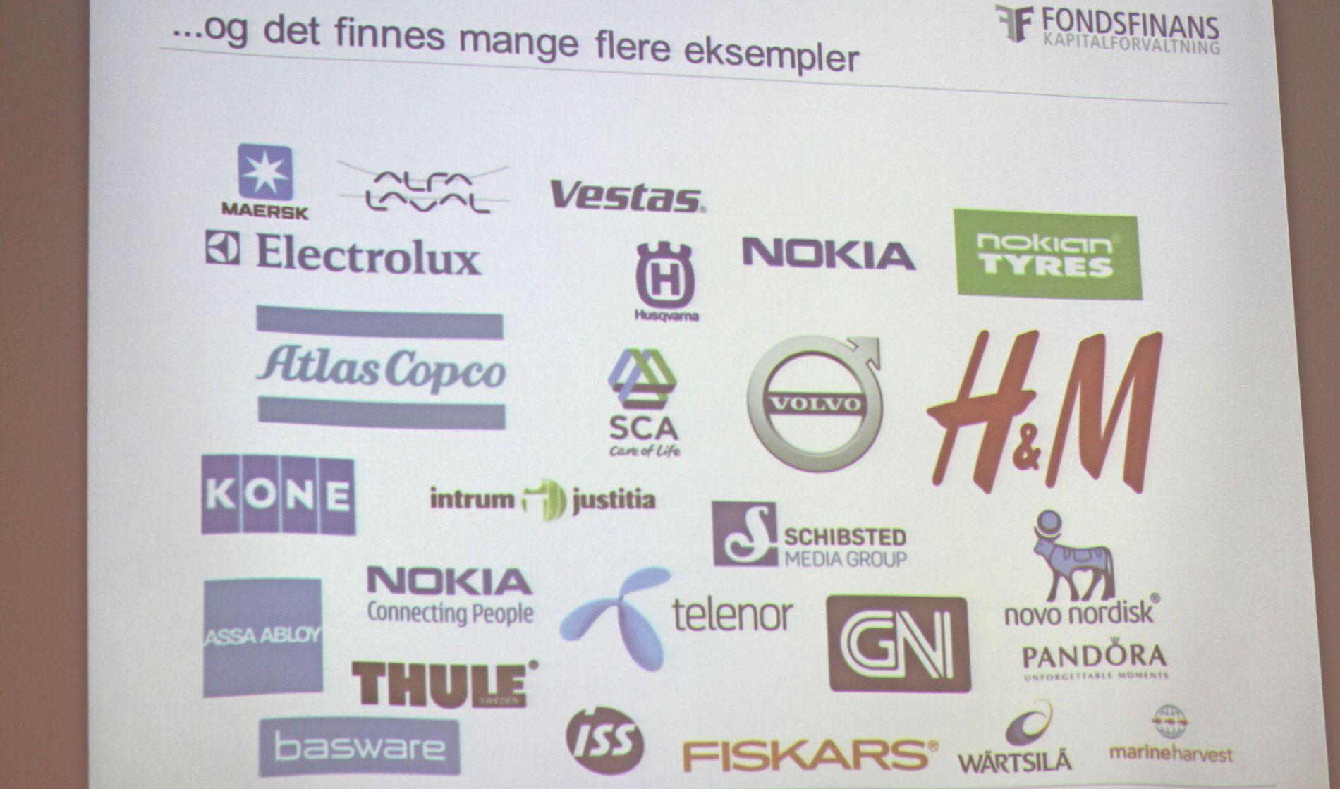 Sammenlignet med resten av Norden, har Norge en svær energisektor og nesten ingen legemiddelselskaper på Børsen, og en lav andel industriselskaper, ifølge Arne Simensen.