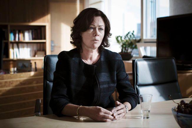 TAR GREP: Barne-, likestillings- og inkluderingsminister Solveig Horne (Frp) legger fram en fosterhjemsmelding som er den første i sitt slag.