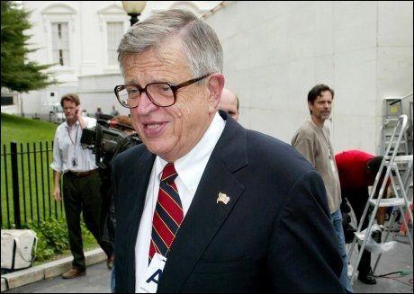 BLE 80 ÅR: Chuck Colson var valgkampleder for Nixon i 1972 og var en av personene som måtte sone tid i fengsel etter Watergate-skandalen. Foto: Larry Downing, Reuters, NTB Scanpix