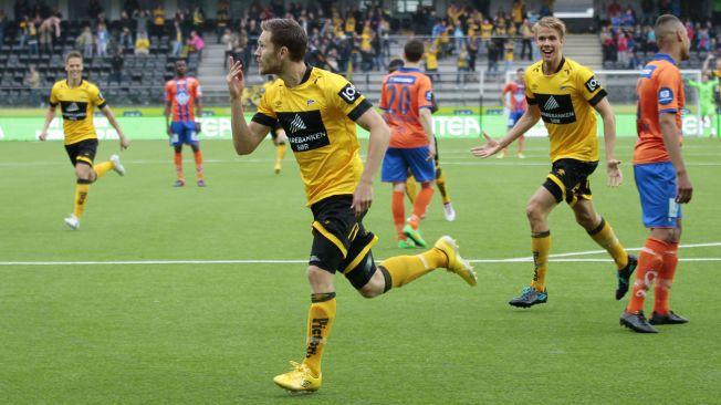 MÅLSCORER: Vilhjálmsson har spilt i Start siden 2012 og scoret 41 mål på 96 kamper i OBOS- og Tippeligaen. Nå skal han spille i Rosenborg.