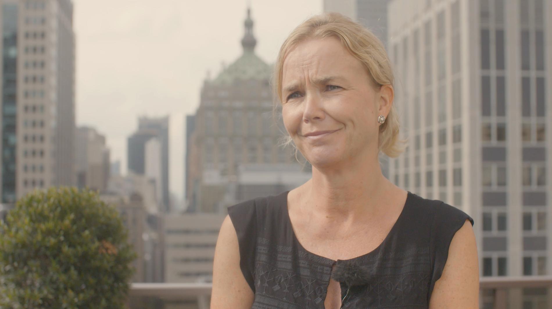 MÅ KREVE FORANDRING: Hege Vibeke Barnes i Innovasjon Norge mener det er bra at forbrukere stiller krav til at selskap tenker på miljøet.