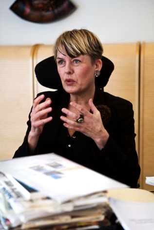 HOLDER MUNN: Utdanningsdirektør Astrid Søgnen i Oslo kommune står bak reduksjonen i styringsmål for Osloskolene. Hun vil ikke kommentere saken overfor VG.
