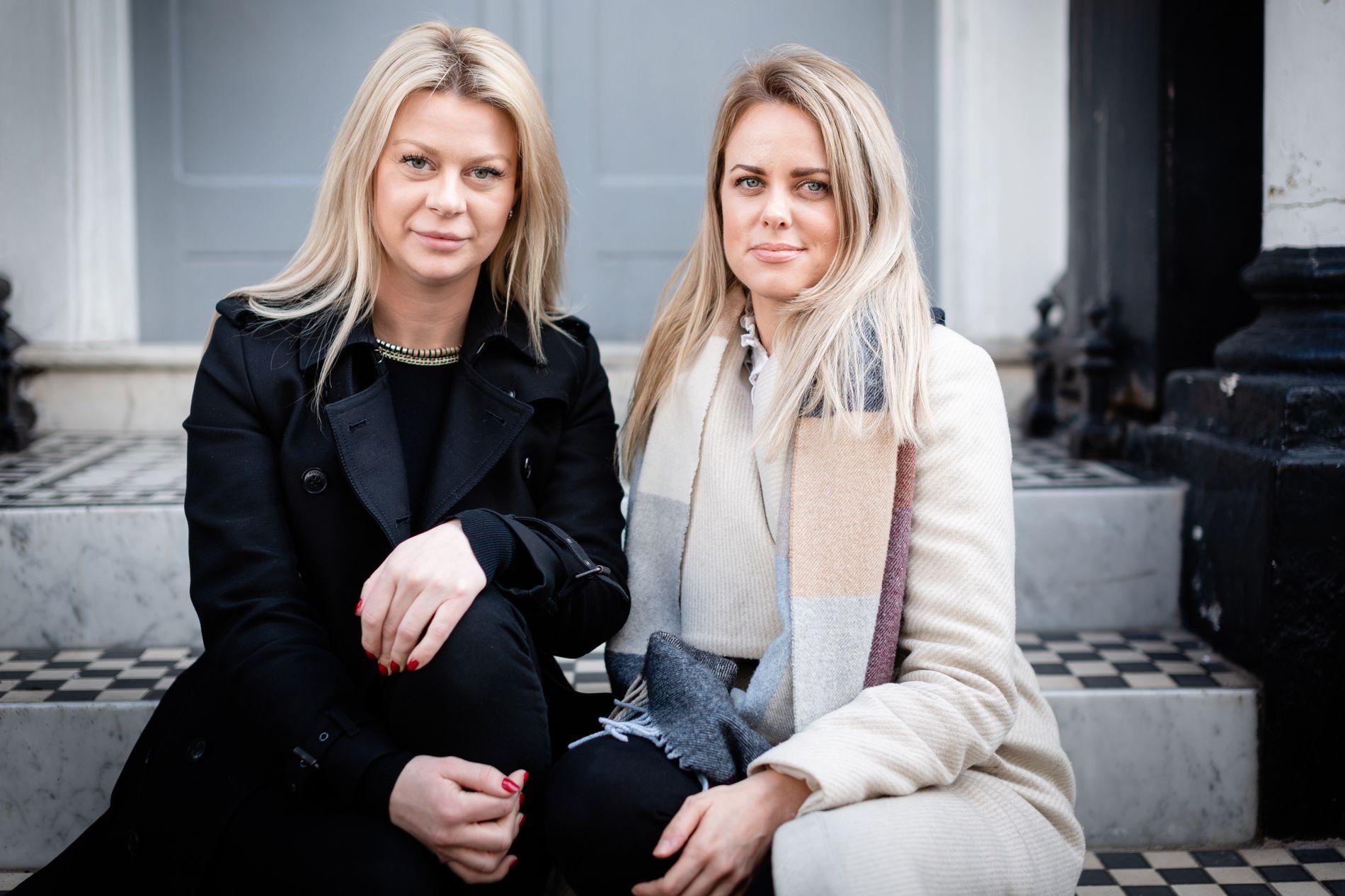 SKUFFET: Svenske Pernilla Sjøholm (t.v.) og norske Cecilie Schrøder Fjellhøy mener europeisk politi burde ha samarbeidet bedre i etterforskningen av Tindersvindleren Simon Leviev.