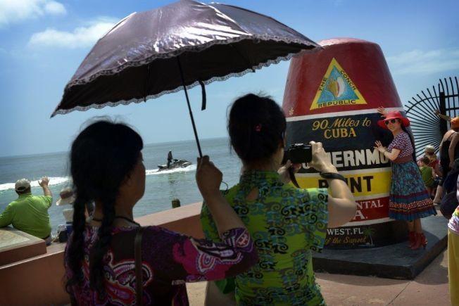 MINNER: Ferie og fotografering hører sammen for mange. Her fra Key West i Florida i USA.