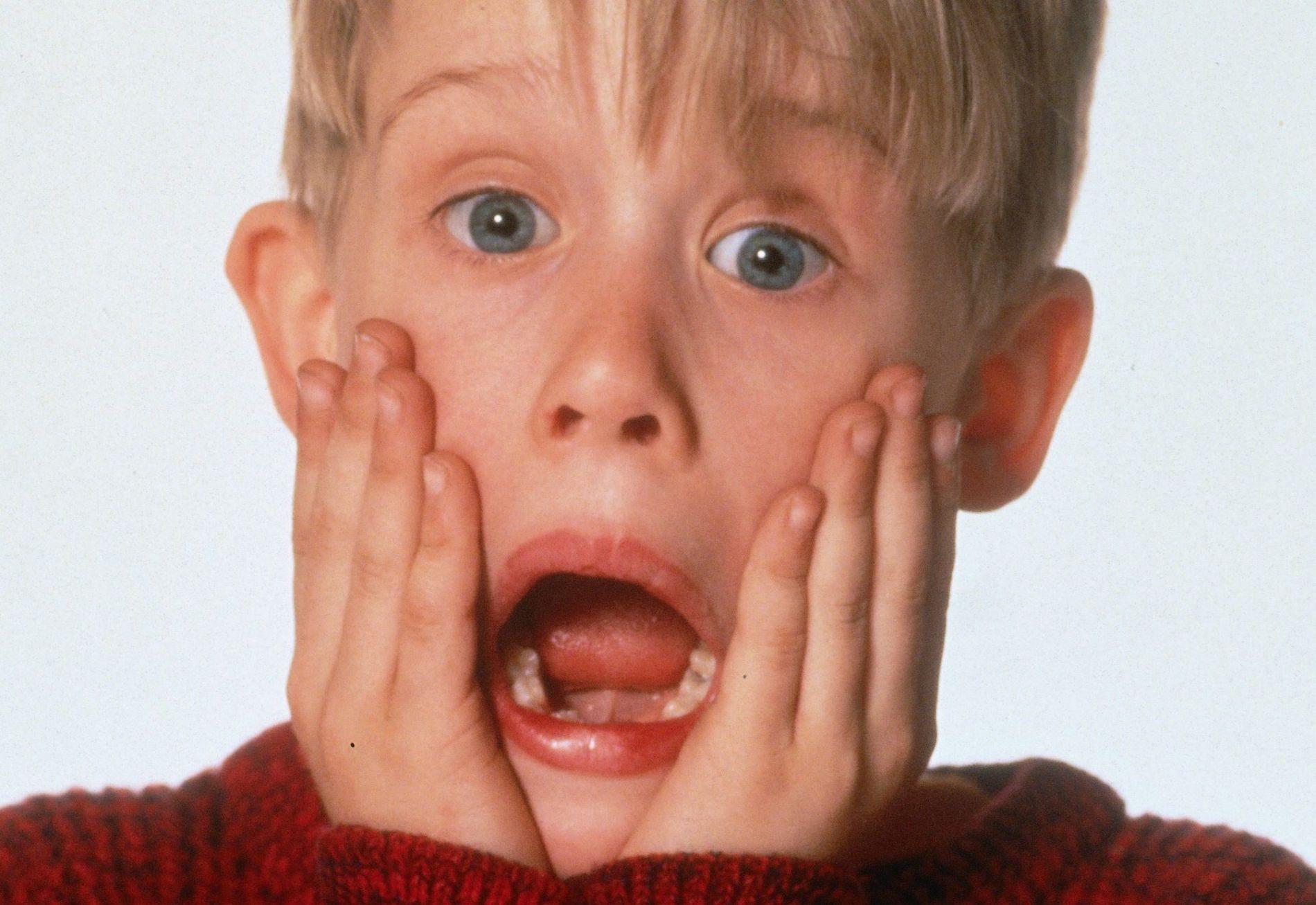KLASSIKER: Macaulay Culkin spiller Kevin McCallister i «Alene Hjemme». Foto: TV2