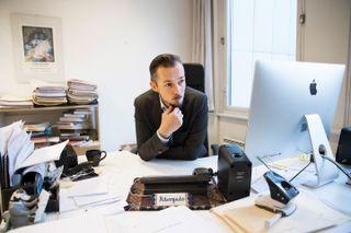 GRÅSONE: Advokat Hans Marius Graasvold. Her avbildet i 2014.
