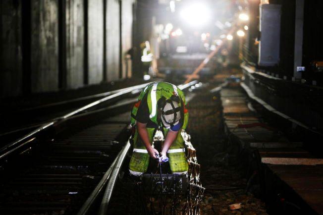 OPPGRADERING: Her blir jernbanen i Oslo-området oppgradert noen år tilbake.
