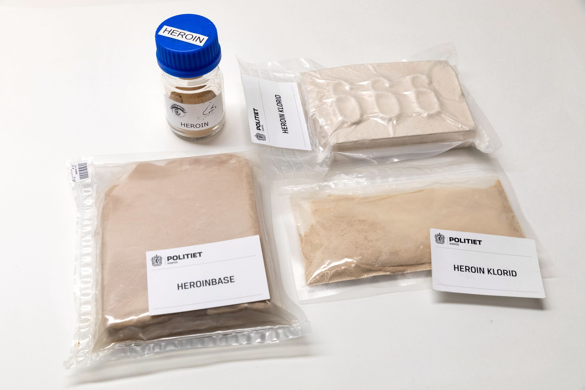DRUGS: In a kitchen counter, police found drugs worth 3-5 million.