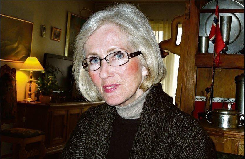 STØTTER CHRISTENSEN: Jorid Helene Andresen (66) er både venninne av Marit Christensen og Wenche Behring Breivik (bildet). Hun mener at den omstridte boken om er en riktig beskrivelse av Breiviks liv. Foto: Privat