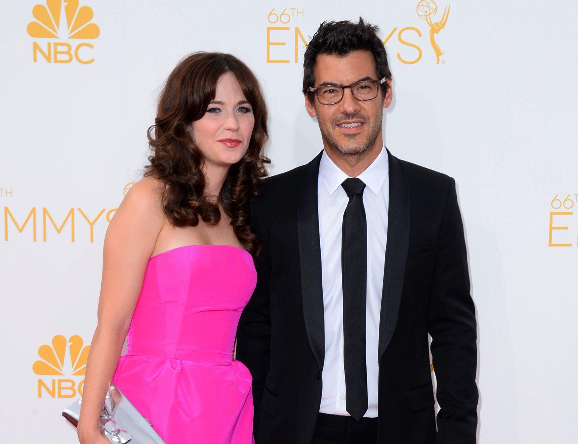 2014: Filmparet i Los Angeles i august 2014.