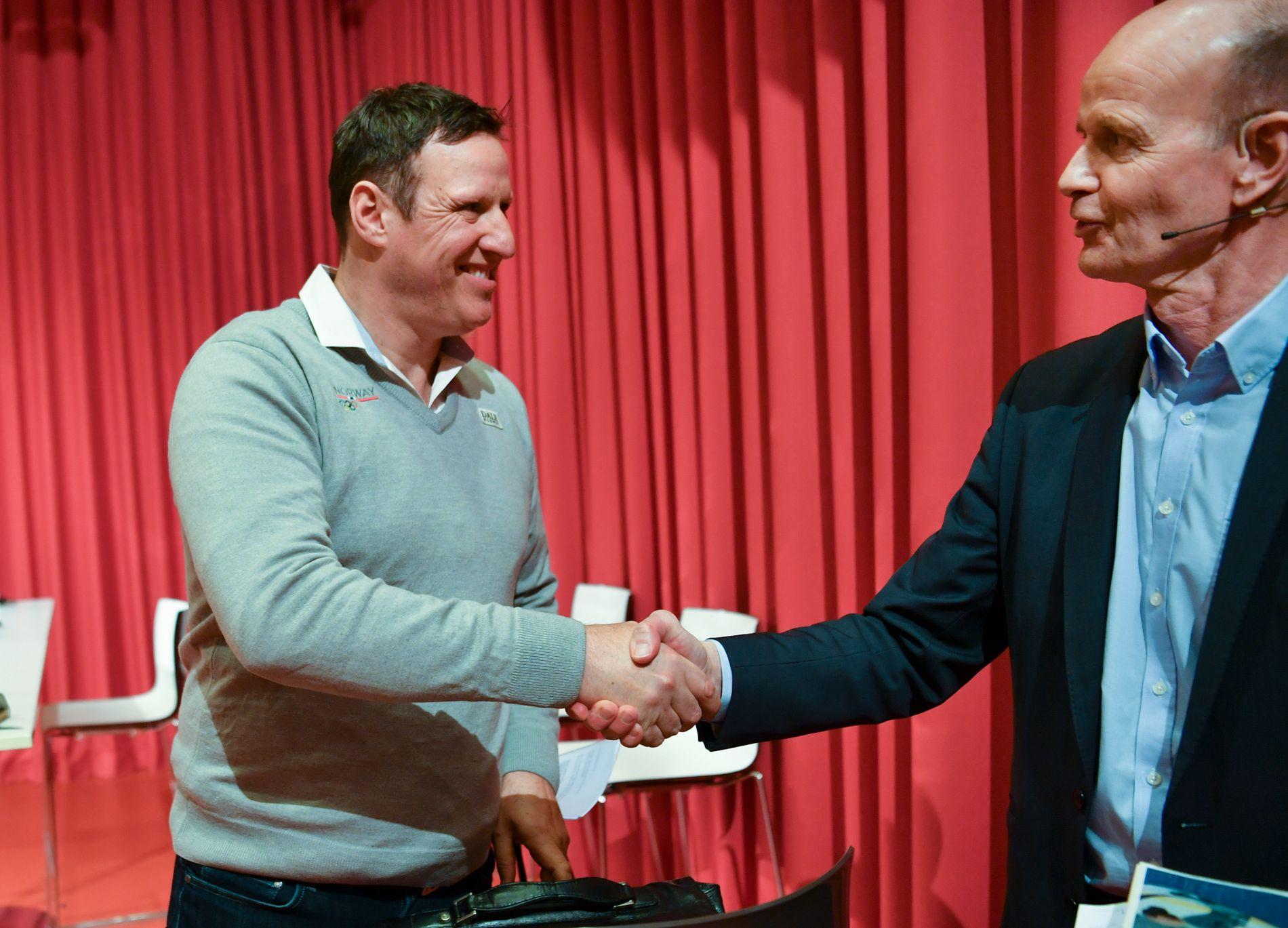 LEDER: Tom Tvedt er idrettspresident i Norge. Til helgen venter idrettstinget.