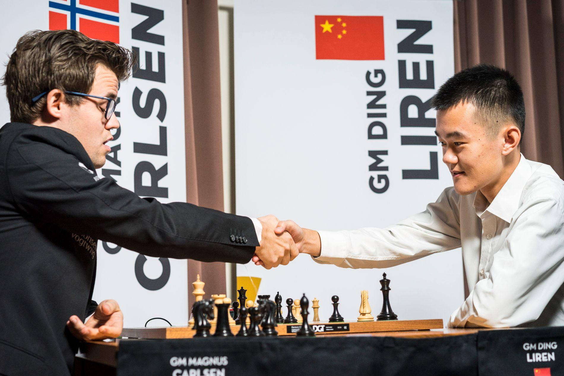 MATCH: Magnus Carlsen og Ding Liren spiller match over 24 dager i hurtig- og lynsjakk. Nordmannen har trolig ødelagt spenningen allerede halvveis.