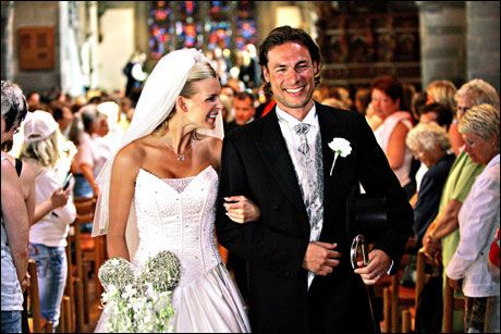 FORELDRE: Kathrine Sørland og Andreas Holck giftet seg i 2006. Foto: VG