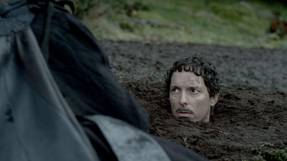 KOMEDIE: Trond Fausa Aurvåg som Rufus i «Vikingane».