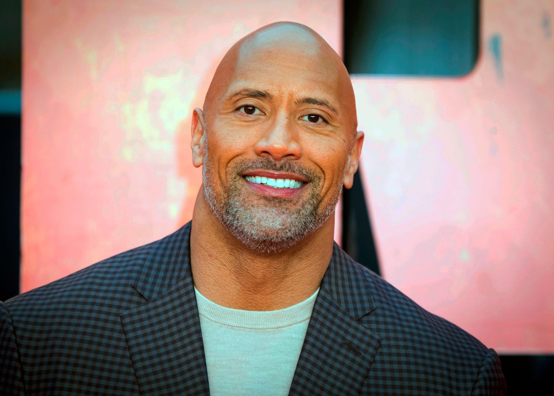 STOLT FAR: «The Rock» hyller kvinner verden over i gledesrus etter å ha nok en gang blitt far.