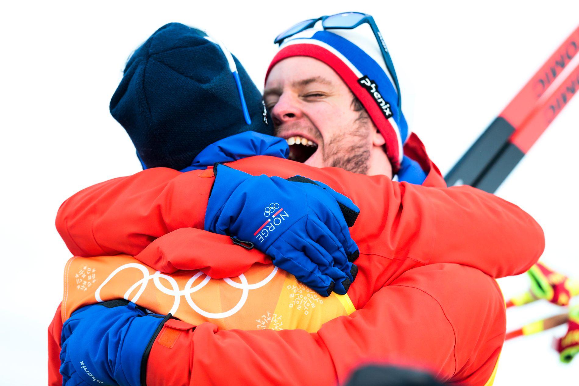 GULL IKKE NOK?: Simen Hegstad Krüger ble olympisk mester i fjor, men er ikke trygg på VM-plass på samme distanse i år.