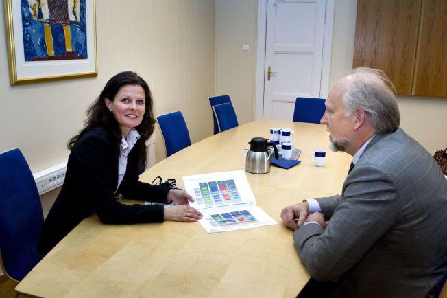NY ROLLE:  Cathrine Marie Lofthus ble sjef i Helse Sør-Øst 1.januar. Hun har som viseadministrerende direktør i Oslo Universitetssykehus vært sterkt involvert i direktør Bjørn Eriksteins «Campus Oslo»-prosjekt.