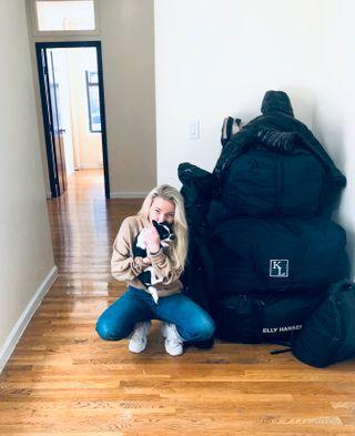 Katharina Janner Hagesveen pakket sakene sine i all hast og dro hjem til Norge i mars.