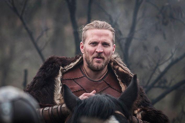 SESONG 1: Tobias Santelmann som Ragnar den yngre i sesongen som har gått på NRK.