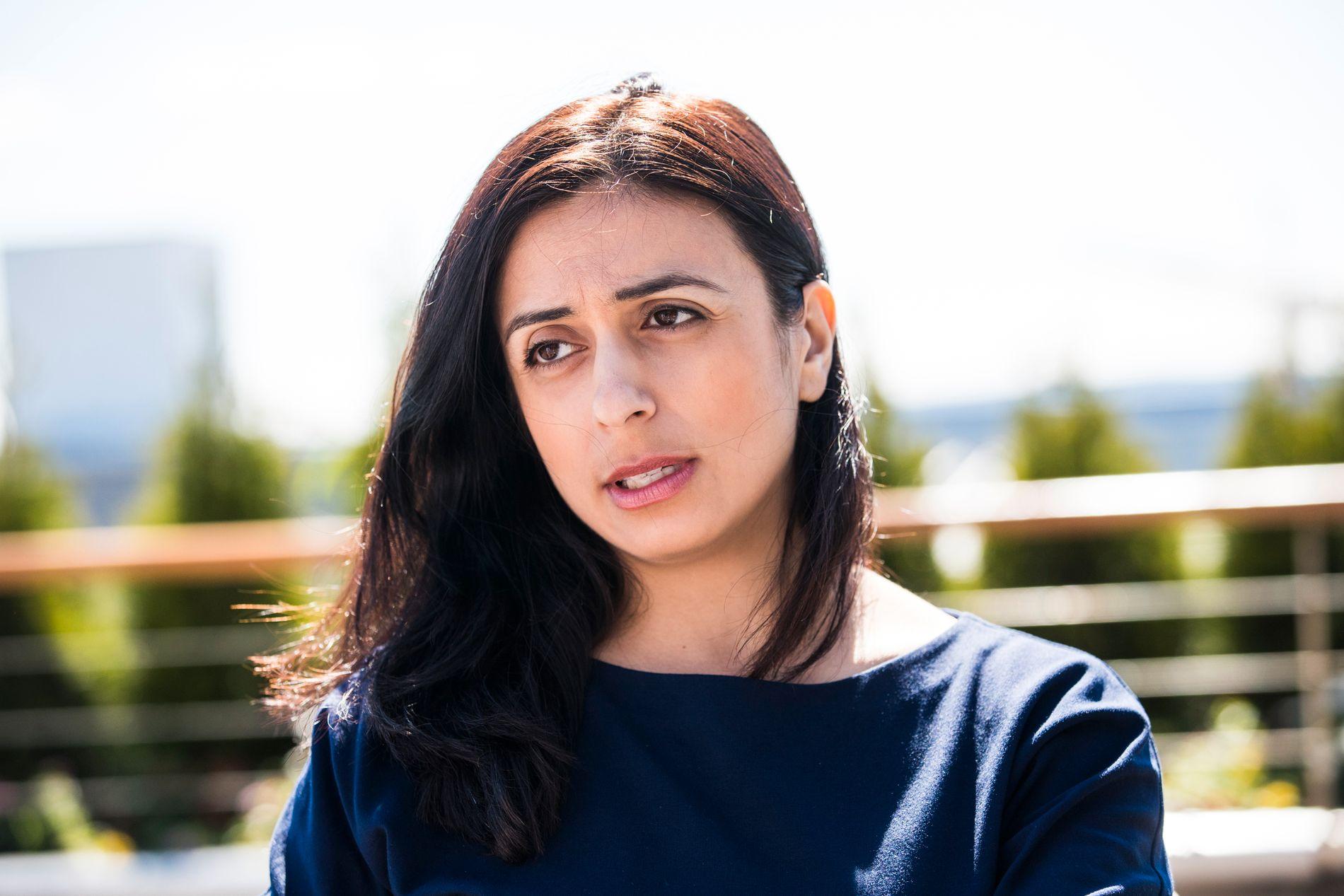 FREMMER FORSLAG: Hadia Tajik (Ap), leder i Stortingets justiskomité, mener viktige deler av nærpolitireformen enten ikke er forstått eller ikke ser ut til å være ivaretatt.