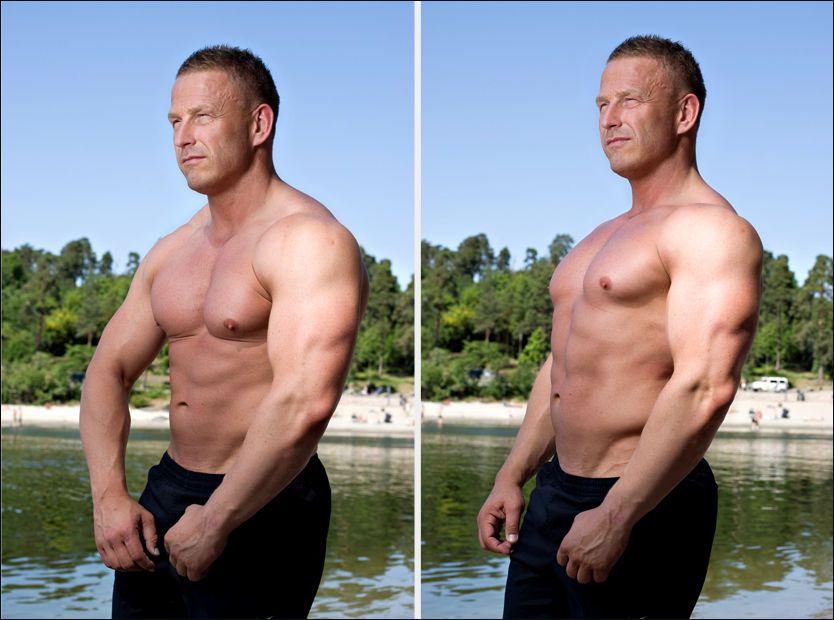 Mange menn trener seg til feil holdning ved å trene brystmusklene for mye f0ed9c31107f8
