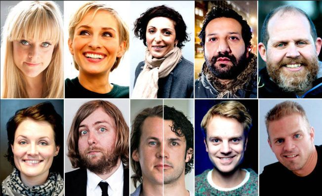 NOMINERTE: Disse ti er nominert til «Publikumsprisen». Avstemningen er nå over, og de fire finalistene vil offentliggjøres 1. mai.