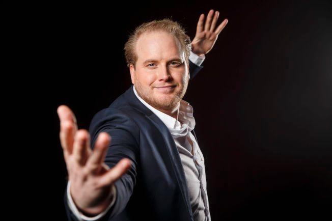 FAVORITT?: Freddy Kalas er allerede en publikumsvinner, en uke før finalen i Melodi Grand Prix.