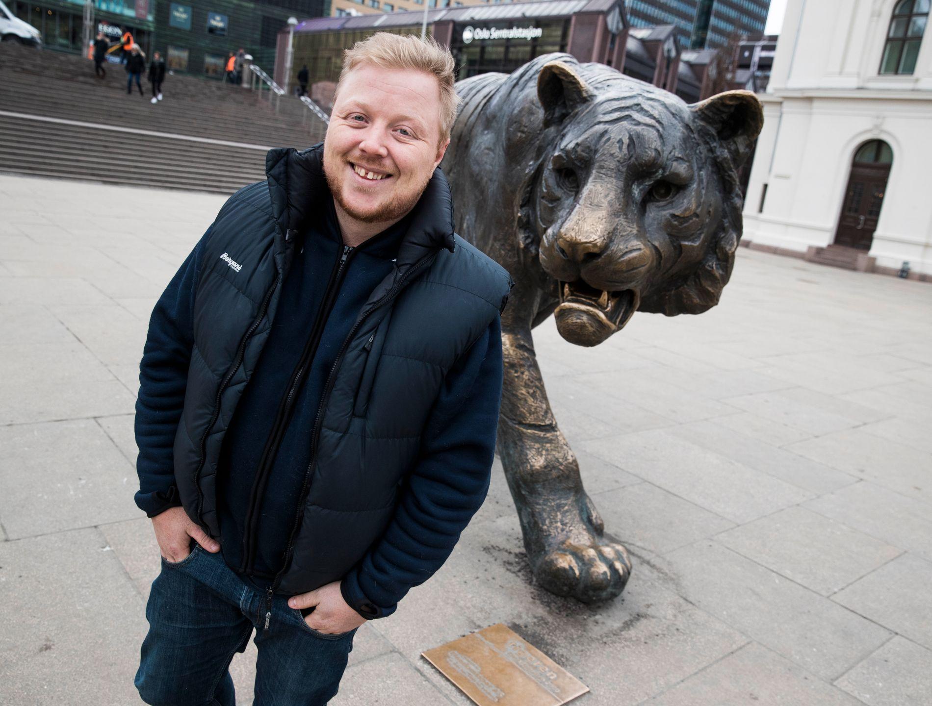 NÆRMERE TIGERSTADEN: Kurt Nilsen har gjort østlending av seg - og stortrives. Nå er han klar med sin første plate på fire år.