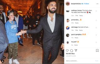 21 år gamle Benjamin Kicks selger sneakers til superstjerner som blant annet Drake.