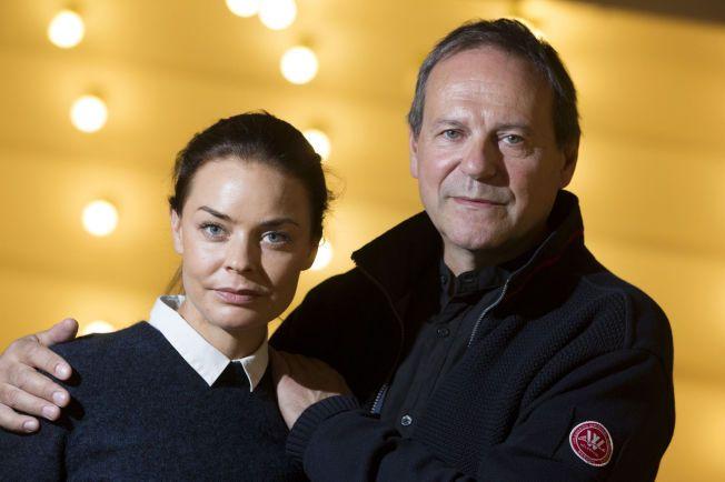 BRAND: Agnes Kittelsen og Svein Tindberg sammen på scenen i januar neste år. Foto: Håkon Mosvold Larsen / NTB scanpix