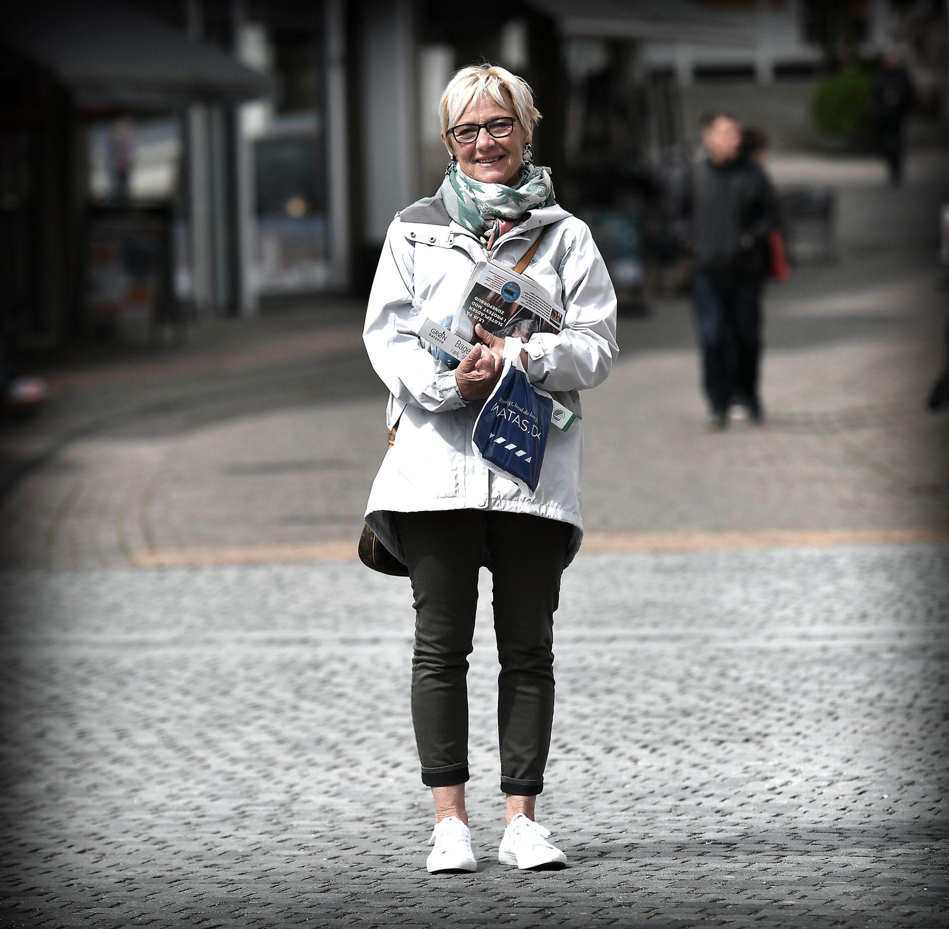 DROPPER DANSK FOLKEPARTI: Pedagogen Birte Petersen (65) bor i Aabenraa I år får ikke Dansk Folkeparti hennes stemme.