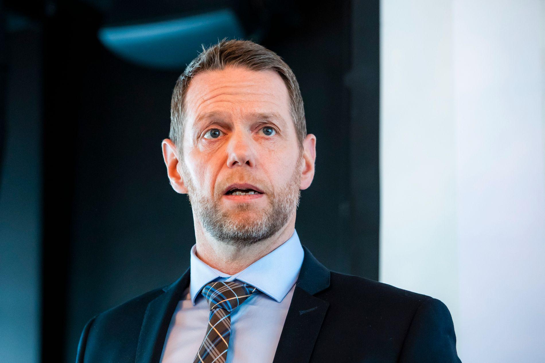 PST VIL STRAFFE: Kommunikasjonsdirektør i PST, Trond Hugubakken.