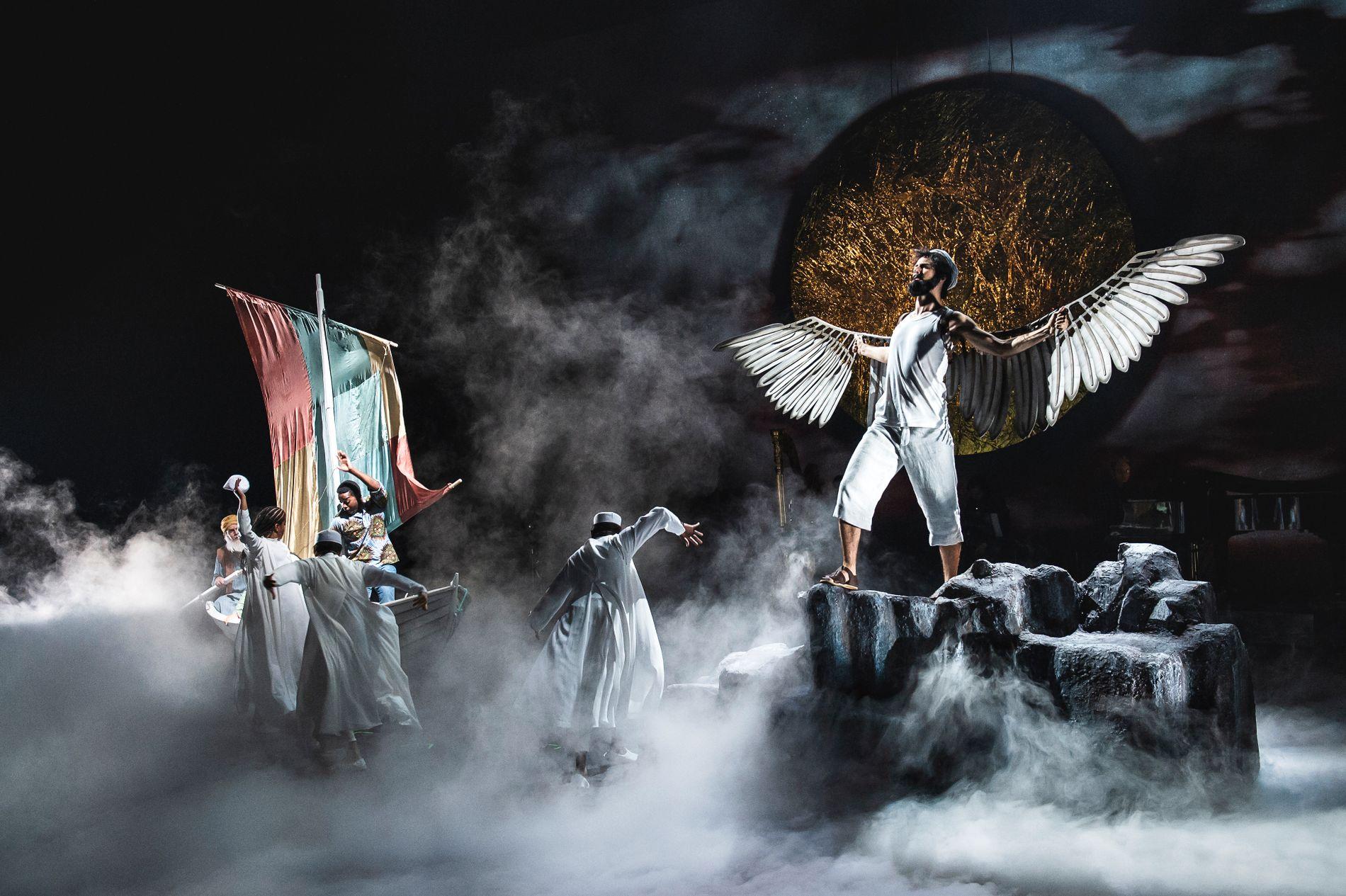 EVENTYRLIG: «Nila og den store reisa» er en visuell storslagen forestilling på Det norske teatret.